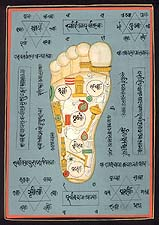 Vishnu's Foot